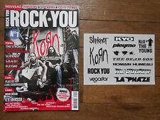 ROCK YOU Bimestriel n° 1 + Stickers + Poster RAMMSTEIN + FRANZ FERDINAND - 2006