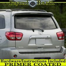 For Toyota Sequoia 2008-2018 Factory Style Spoiler Roof Wing w/LED Light PRIMER