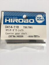 0414-118 Hirobo RC Helicopter Part Counter Gear Shaft New in package 0414118