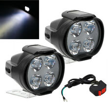 2x Mini Lamp 8W Pit Bike ATV Head Light LED Fog Spotlight 800LM 9-85V w/ Switch