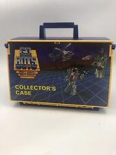 Vintage Tonka 1984 GoBots Collector Case + Lot 12 Go Bots Figures Toy 1985 Japan