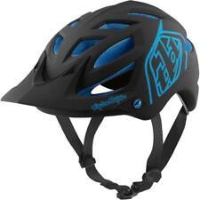 Troy Lee Designs A1 MIPS MTB Cycling Helmet (Black/Blue / M-L Size)