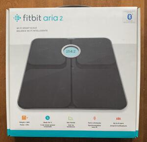 Fitbit Aria 2 Wi-fi Smart Scale Black