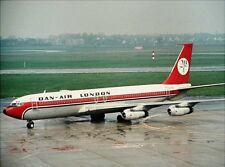 INFLIGHT 200 IF7070917 1/200 DAN-AIR LONDON BOEING 707-300 G-AYSL WITH STAND