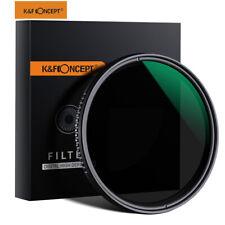 K&F Concept Variable Neutral Density ND8-ND2000 ND Lens Filter w/ Multi-Coating