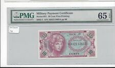 MPC Series 651  10 cents PMG 65EPQ  GEM UNC