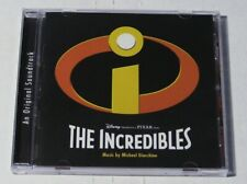 The Incredibles Original Soundtrack Cd - Pixar - Walt Disney