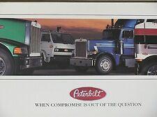 1990 PETERBILT TRUCK (USA) SALES BROCHURE