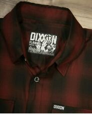 "Dixxon flannel THE BISHOP short sleeve bamboo.  Size..3X-LARGE ""SOLD OUT"".. NIB"