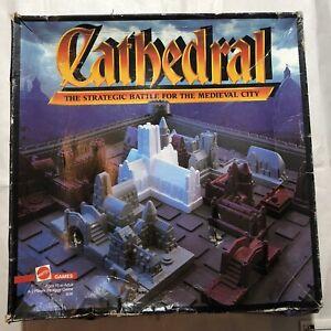 Cathedral Mattel Strategic Game Vintage Very Rare 1986