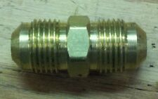 3/8 MALE FLARE UNION FITTING  RV HEAVY BRASS
