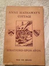 Anne Hathaway's Cottage, Stratford-Upon -Avon by Wilfrid J. Osborne 1956