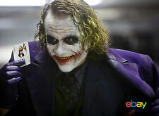 PHOTO THE DARK KNIGHT, LE CHEVALIER NOIR - HEATH LEDGER - 11X15 CM  # 9