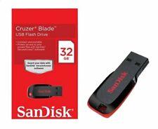 Clé USB 2.0 SanDisk Cruzer Blade 32 Go 64Go