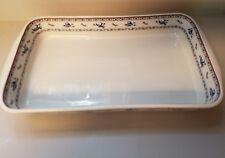 Porcelaine de Paris OISEAU BLEU Baking Dish