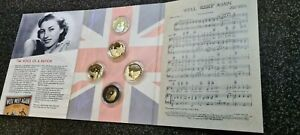 Dame Vera Lynn - The Voice Of A Nation Limited Edition Gold Coin Collection.