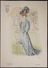 Goubaud - Fashionably Dressed Woman. 1163 - 1904 Le Mode Artistique FOLIO