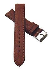 20 mm Uhrenarmband Bison cognac Uhrenband Uhren Armband