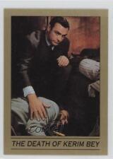 1993 Eclipse James Bond 007 Series 1 #41 The Death of Kerim Bey Card 0b6