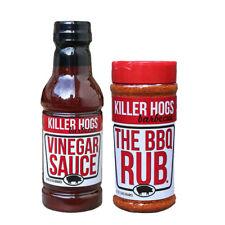 Killer Hogs Malcom Reed The BBQ Rub & VINEGAR Sauce Combo Pack