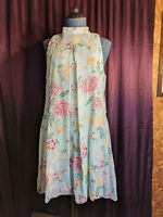 New Robbie Bee Mint Floral Dress Womens 6P NWT $74 Closet359