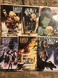 Batman White Knight Presents Harley Quinn # 1 - 6 COMPLETE VARIANT Set DC Comics