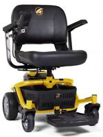 Golden LiteRider Envy Lightweight Mobility Electric Power Chair Wheelchair
