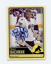 RICHARD BACHMAN STARS AUTOGRAPH AUTO 12/13 O-PEE-CHEE OPC #491 *56368