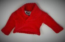 BARBIE  VINTAGE KEN DOLL RED SWEATER -1960's EXCELLENT CONDITION AUTHENTIC