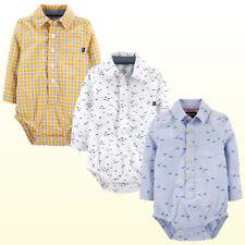 Oshkosh Bgosh  Baby Bgosh Baby Boys Woven Bodysuit Button...