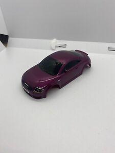 EXCELLENT CONDITION 1/32 Scale Scalextric Purple Audi TT Slot Car Body