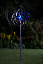 Smart Garden Spiro Wind Spinner Illuminated Garden Solar Light Mobile Ornament