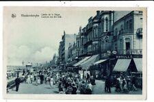 CPA-Carte Postale-Belgique  Blankenberge- Centre de la Digue en 1933 VM8893