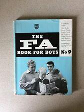 The FA Book For Boys No.9 UK 1956 Hard Back