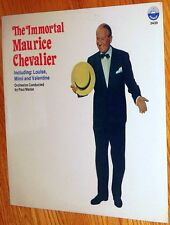 VINYL LP Maurice Chevalier - The Immortal Factory Sealed