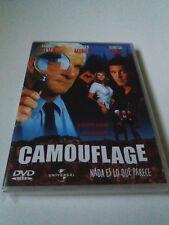 """DVD """"CAMOUFLAGE NADA ES LO QUE PARECE"""" LESLIE NIELSEN LOCHLYN MUNRO VANESSA ANGE"""