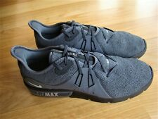 Nike Air Max Sequent 3 Men's Grey Runners Size 13 US, 12 UK & 47.5 EUR - Like Ne