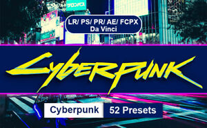 Cyberpunk Professional Lightroom Presets and Photoshop Actions✔️Fast Delivery✔️