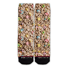 Function - Lucky Charms Sublimated Socks cereal fruit loops funny all over odd