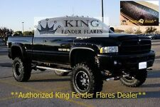 1994 - 2002 DODGE RAM 2500 / 3500 POCKET RIVET KING FENDER FLARES TEXTURED