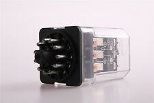 Coil New 3NO 3NC 11Pin Electromagnetic Relay JQX-10F3Z 24VAC with Red LED