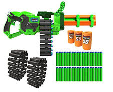 Nerf Dart Machine Gun Motorized Fully Automatic Toy Guns for Boys Blaster
