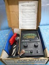 Vintage Fox Valley Universal Tach-Dwell Professional Tester w/Original Box 256