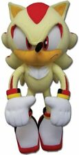 SUPER SHADOW SONIC the Hedgehog PLUSH - 12 inch. NEW AUTHENTIC