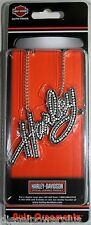 harley davidson motorcycle logo ornament necklace rear view mirror emblem car HD