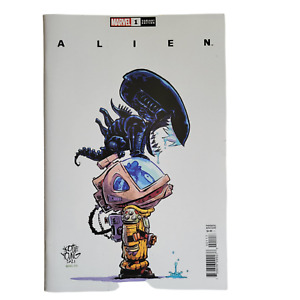 Alien #1 Cover F Variant Skottie Young Cover 2021