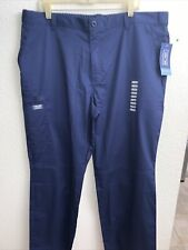 Xl Navy Blue Cherokee Workwear Core Stretch Men's Fly Front Pant (Short) -Ww200S
