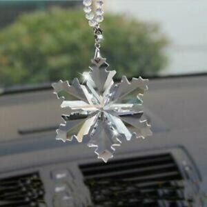 Crystal Large Annual Edition Christmas Gift Ornament Snowflake Holiday New/