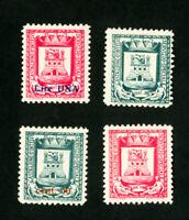San Marino Stamps # 4V VF OG NH