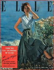 ▬►Elle 347 (1952) Douglas Fairbanks_Anna Magnani_ Mode Fashion Vintage